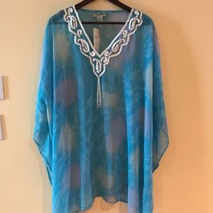 Other - Coverup for the beach,sky blue.